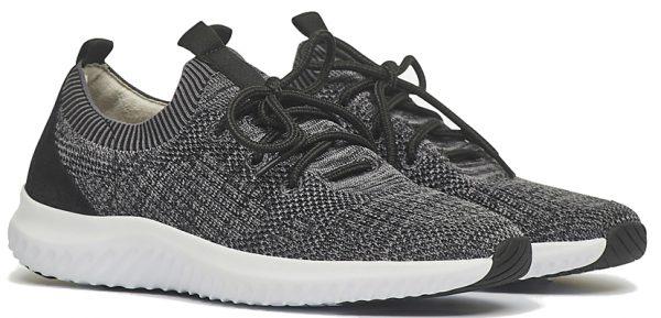 Gabor Rollingsoft 26.980.17 Women Walking Shoes - Grey Black