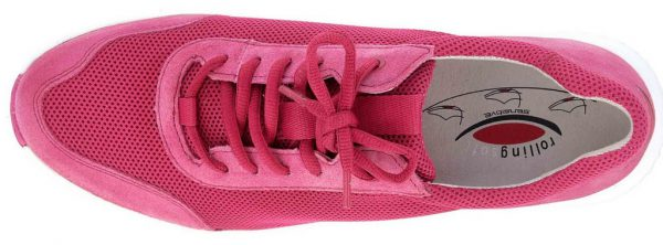 Gabor Rollingsoft 26.981.62 Women Walking Shoes - Fuchsia Pink