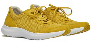 Gabor Rollingsoft 26.981.63 Women Walking Shoes - Yellow