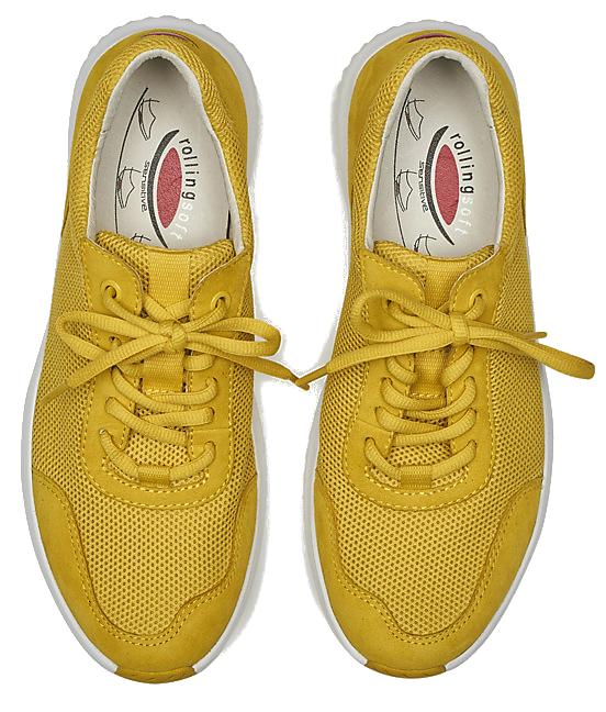 Gabor Rollingsoft 26.981.63 Women Walking Shoes - Yellow
