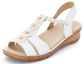 Ara 12-27217-77 Women's Sandal - White