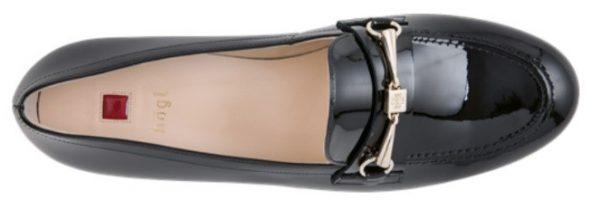 Högl slip-on Prepstern 8-101214-0100 black leather