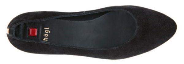 Högl pumps Rosy 0-124202-0100 black suede