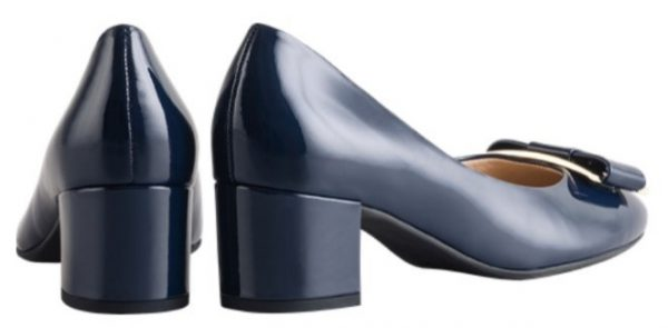 Högl pumps Studio 40 8-104084-3200 blue leather