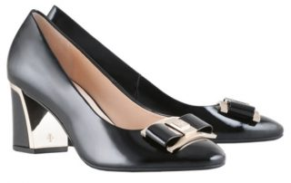 Högl pumps Divine 8-105044-0100 black leather