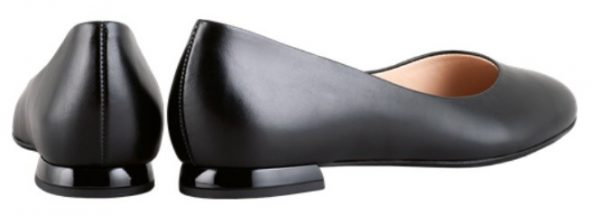 Högl ballerinas Femality 0-121020-0100 black leather