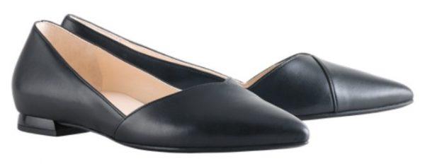 Högl ballerinas Boulevard 10 0-120010-0100 black patent leather