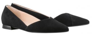 Högl ballerinas Boulevard 10 0-120012-0100 black suede leather