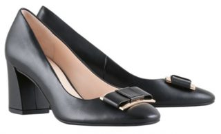 Högl pumps Fancy 8-105080-0100 black leather