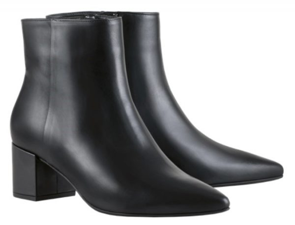 Högl ankle boots Publicity 8-104913-0100 black leather