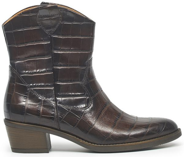 Gabor 31.600.53 Women Ankle Boot - Brown Crocoprint