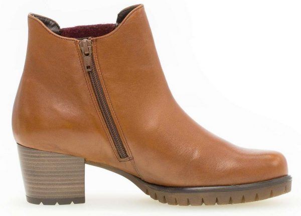 Gabor 36.654.61 Women Ankle Boot - Cognac Brown