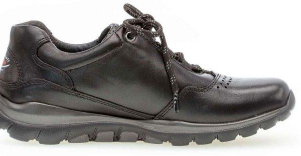 Gabor rollingsoft sensitive 36.964.57 women walking shoes - black