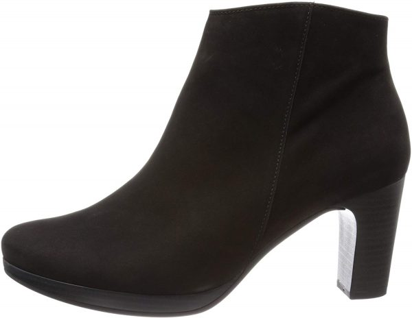 Gabor ankle boots 95.790.17 black nubuck