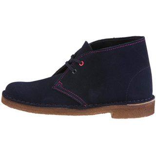 Clarks DESERT BOOT Women Ankle Boots - Navy
