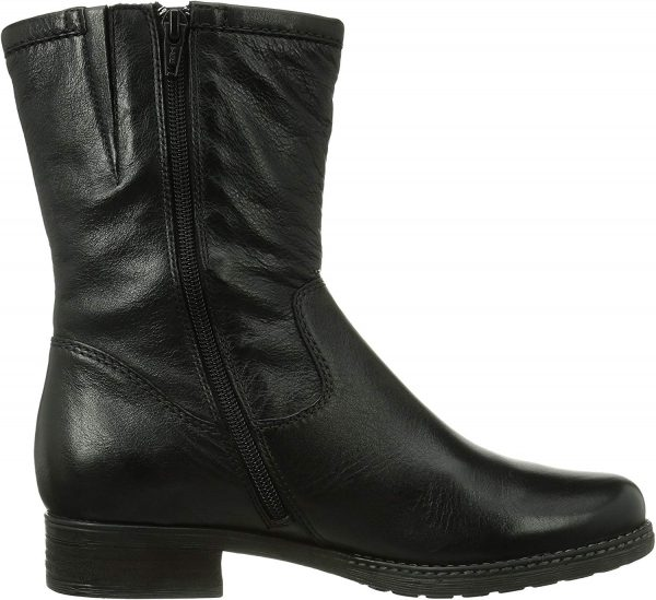 Gabor medium boots 92.783.61 black leather