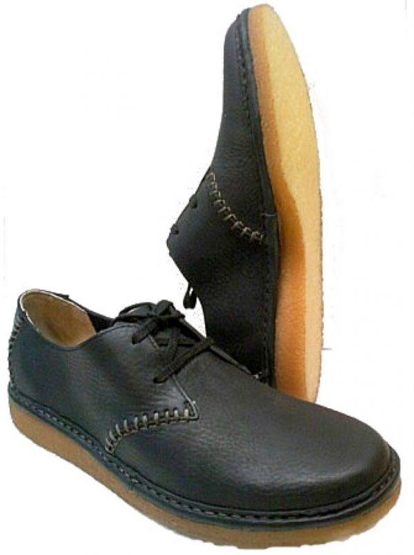Clarks BLACKDOWN TRACK Men Lace Shoe - Black