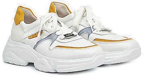 Gabor 43.470.23 Women Sneaker - White mango combi