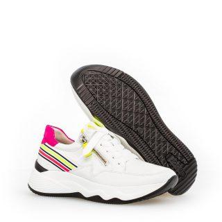 Gabor 43.492.23 Women Sneaker - White combi