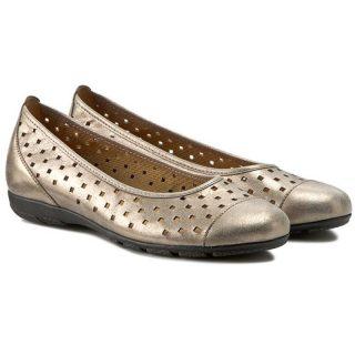 Gabor 44.169.63 Women Ballerina - Metallic Gold
