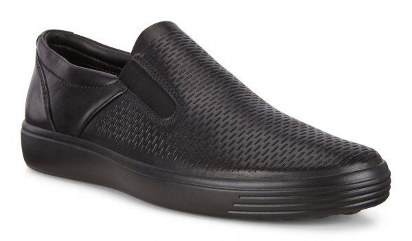 Ecco 470134-01001 Men's Slip-on - Black