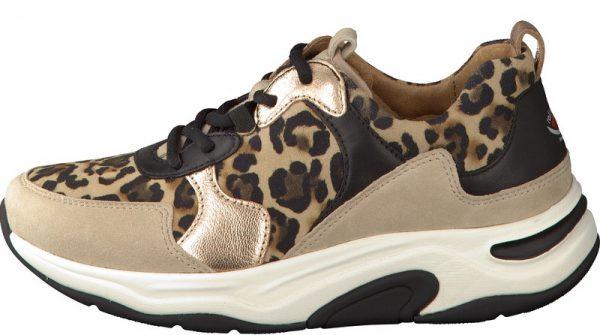 Gabor Rollingsoft 46.916.63 Women Walking Shoes - Beige