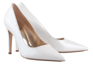 Högl bridal pumps Boulevard 90 0-189003-0300 pearl white leather