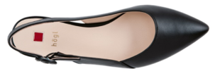 Högl ballerinas Cheery 9-100100-0100 black leather