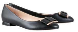 Högl ballerinas Harmony 9-101080-0100 black leather