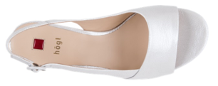 Högl Sandals Joy 9-102116-6700 light grey leather