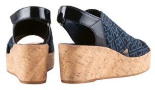Högl Sandals PORTOFINO 9-103238-3000 blue stretch