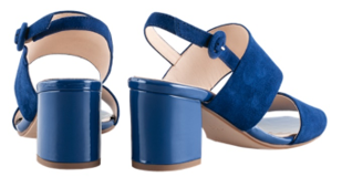 Högl Sandals Purity 9-105542-3100 blue leather