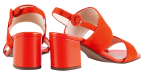 Högl Sandals Purity 9-105542-4200 red leather