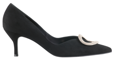 Högl pumps Secession 8-107122-0100 black suede