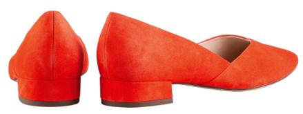 Högl ballerinas Slimly 9-102002-4200 red suede