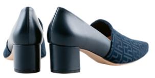 Högl pumps SOVEREIGNTY 9-104548-3000 blue leather & stretch