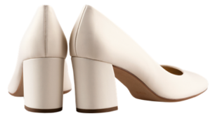 Högl bridal pumps Studio 50 0-125007-0700 carrara leather
