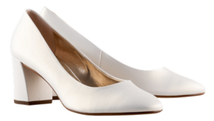 Högl bridal pumps Studio 50 0-125007-0300 pearl white leather