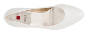 Högl bridal pumps Studio 60 0-186003-0300 pearl white leather