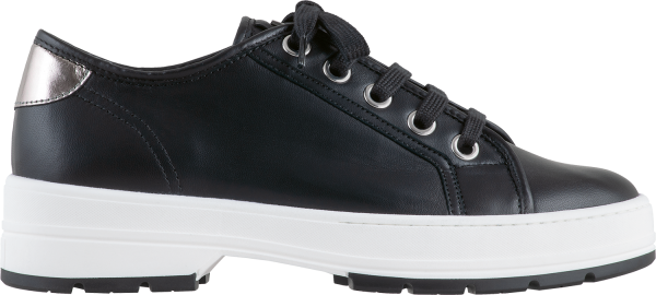 Högl sneakers Walker 9-100800-0100 black leather & stretch