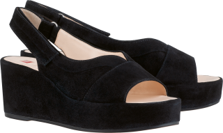 Högl Sandals Papillon 9-103252-0100 black suede