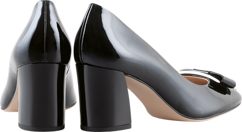 Högl pumps Fancy 9-105084-0100 black leather