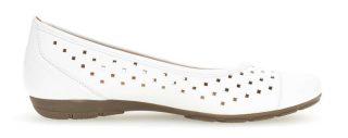 Gabor 44.169.21 Women's Ballerina - White