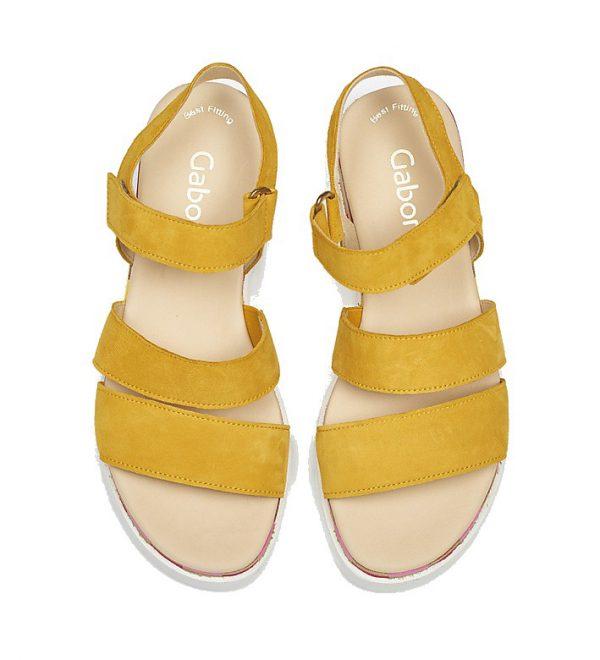 Gabor 44.660.13 Women Sandal - Yellow