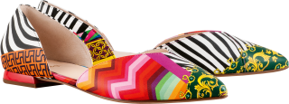 Högl ballerinas All-Day 9-100003-9900 multi colour leer
