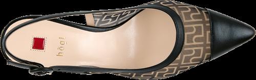 Högl slingpumps Agate 9-106210-0100 black leather