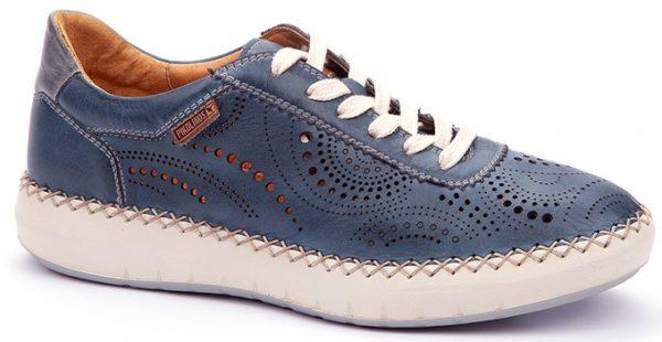 Pikolinos Mesina W6B-6996 Leather Sneaker for Women - Sapphire