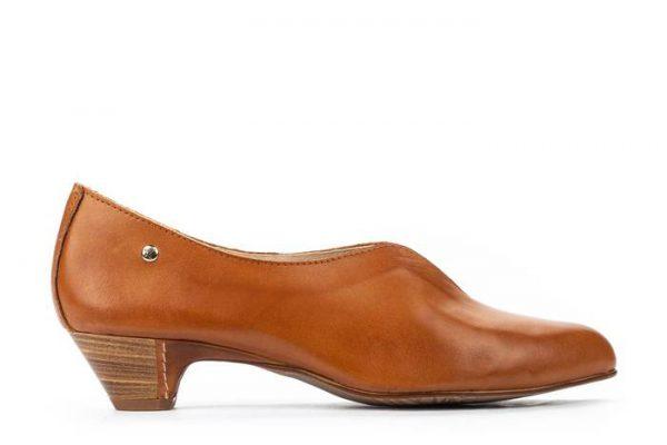 Pikolinos ELBA W4B-1716 Leather Women's Pumps - Brandy