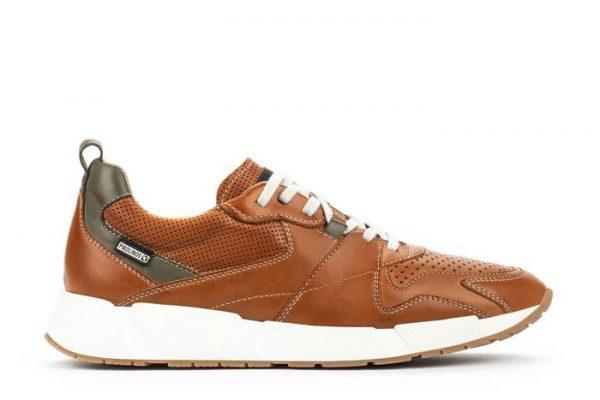 Pikolinos MELIANA M6P-6322 Leather Men's Sneaker - Brandy