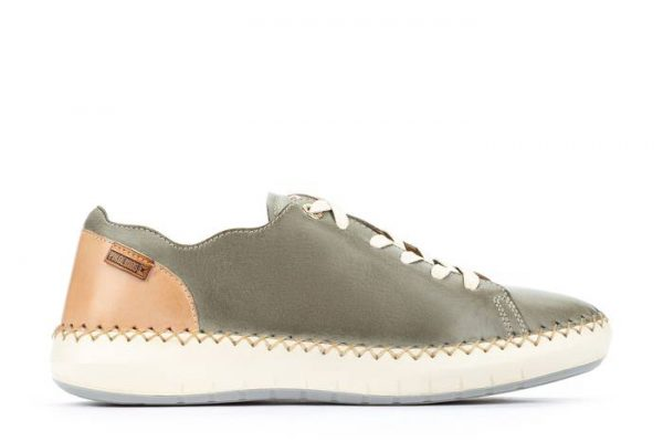 Pikolinos Mesina W6B-6836 Leather Sneaker for Women - Sage